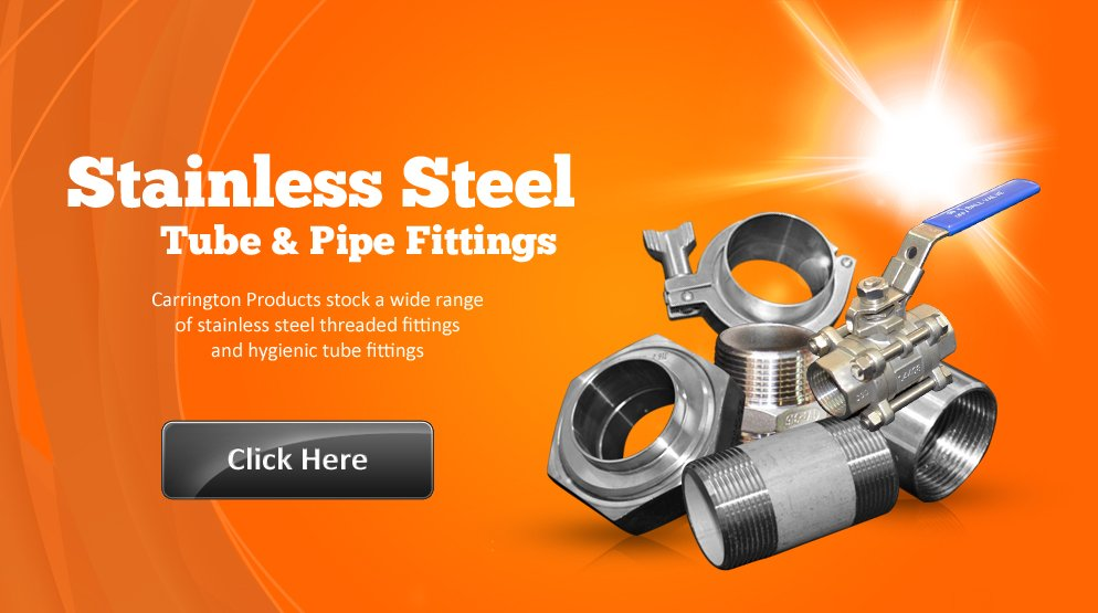 Stainless Steel Tube & Pipe Fittings
